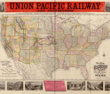 Union Pacific Railway Map